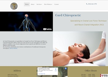 Chiropractic Website